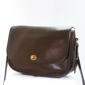 Coach Vintage Crossbody Brown Leather